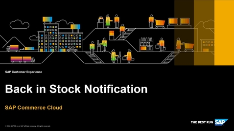 Thumbnail for entry Back In Stock Notification - SAP Commerce Cloud - Accelerator for China
