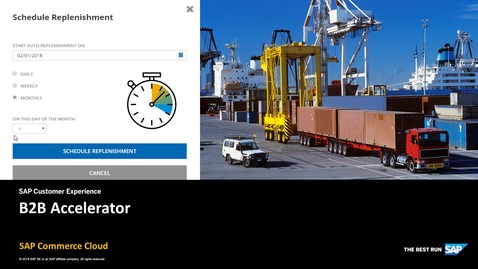 Thumbnail for entry B2B Accelerator - SAP Commerce Cloud