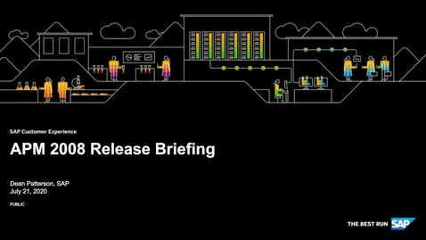 Thumbnail for entry [ARCHIVE] SAP Agent Performance Management 2008 Release Briefing - Webinars