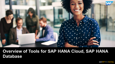 Thumbnail for entry Overview of Tools for SAP HANA Cloud, SAP HANA Database