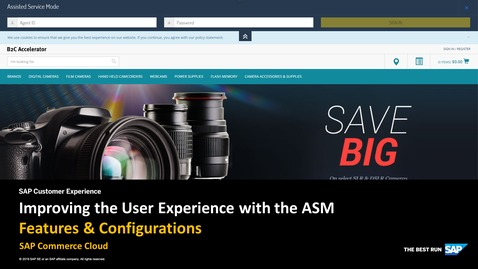 Thumbnail for entry Improving the User Experience with the ASM - SAP Commerce Cloud