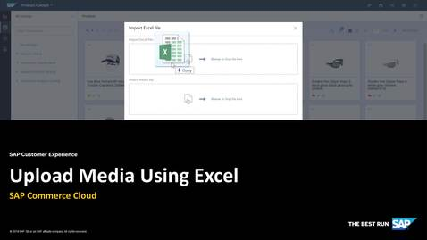 Thumbnail for entry Upload Media to Backoffice Product Cockpit Using Excel - SAP Commerce Cloud