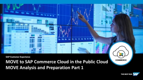 Thumbnail for entry MOVE to SAP Commerce Cloud in the Public Cloud - Analysis and Preparation Part 1