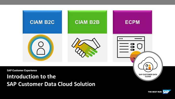 Introduction to the SAP Customer Data Cloud Solution