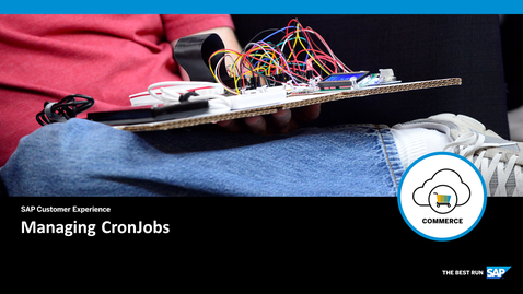Thumbnail for entry CronJobs - SAP Commerce Cloud