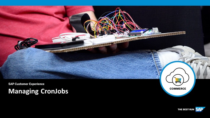 CronJobs - SAP Commerce Cloud