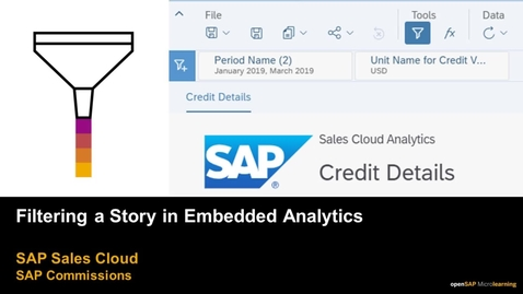Thumbnail for entry Filtering a Story in Embedded Analytics for SAP Commissions