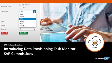 Thumbnail for entry Introducing Data Provisioning Task Monitor - SAP Commissions
