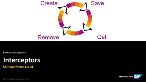 Thumbnail for entry Interceptors - SAP Commerce Cloud