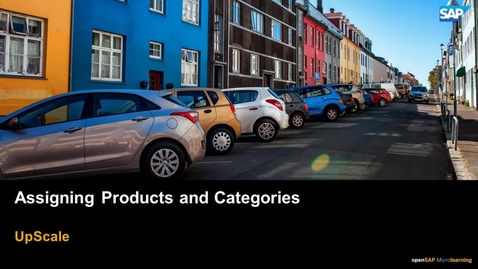 Thumbnail for entry Assigning Products and Categories - SAP Upscale Commerce