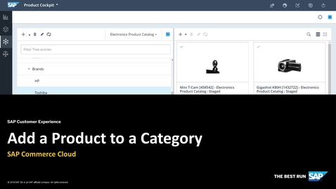 Thumbnail for entry Add a Product to a Category - SAP Commerce Cloud