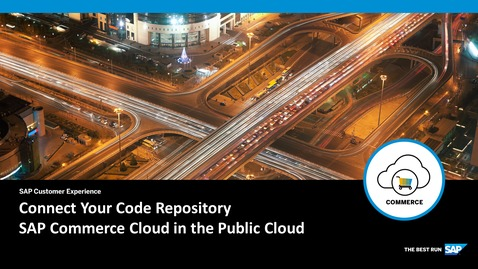 Thumbnail for entry Connect Your Code Repository - SAP Commerce Cloud