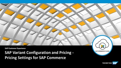 Thumbnail for entry Price Settings for SAP Commerce - SAP Product Configuration - SAP Commerce Cloud