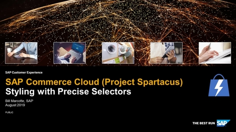 Thumbnail for entry Styling With Precise Selectors - SAP Commerce Cloud