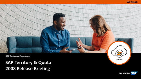 Thumbnail for entry [ARCHIVE] SAP Territory & Quota 2008 Release Briefing - Webinars