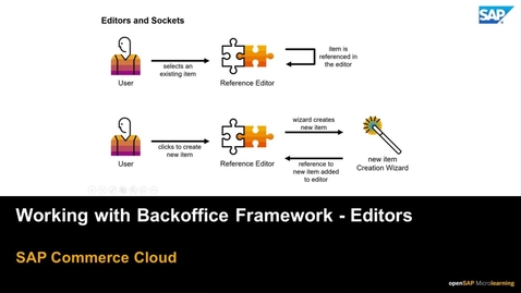 Thumbnail for entry Working with Backoffice Framework - Editors - SAP Commerce