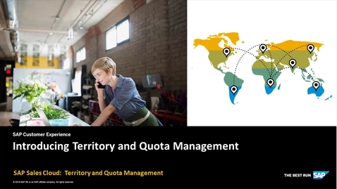 Thumbnail for entry Introduction to Territory and Quota Management