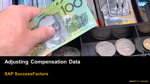 Thumbnail for entry Adjusting Compensation Data - SAP SuccessFactors