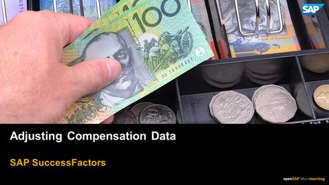 Thumbnail for entry Adjusting Compensation Data - SAP SuccessFactors