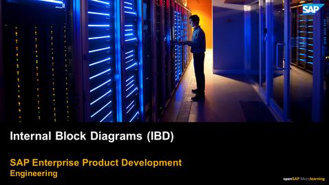 Thumbnail for entry Internal Block Diagram (IBD) - PLM: Systems Engineering