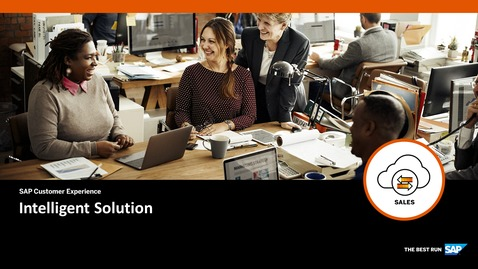 Thumbnail for entry Intelligent Solution - SAP Sales Cloud