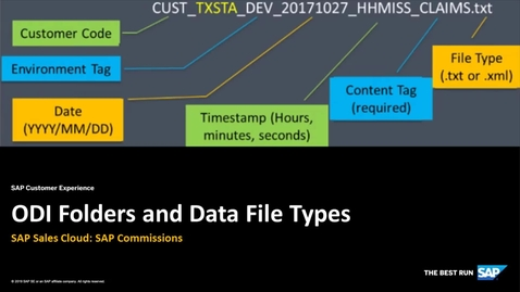 Thumbnail for entry ODI Folders and Data Files Types