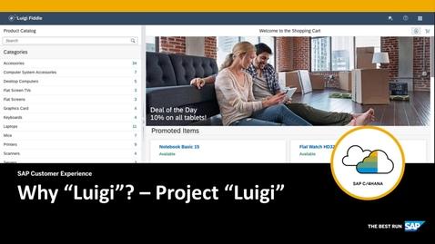 """Thumbnail for entry Why """"Luigi""""? - Project """"Luigi"""""""