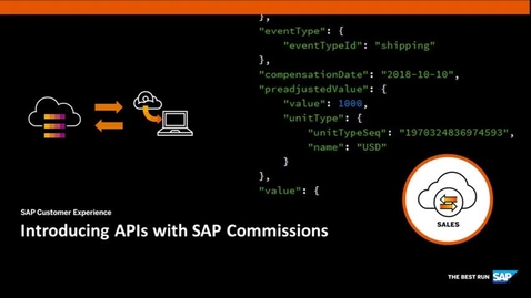 Thumbnail for entry Introducing APIs with SAP Commissions