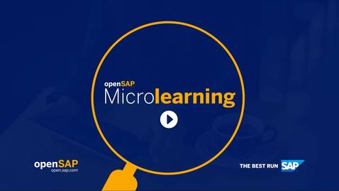 Thumbnail for entry Navigating the SAP CPQ User Menu - SAP Sales Cloud: SAP CPQ