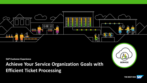 Thumbnail for entry Achieve Your Service Organization Goals with Efficient Ticket Processing - Webcast
