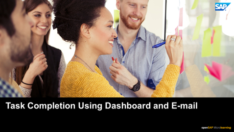 Thumbnail for entry Task Completion Using Dashboard and E-mail - SAP Ariba