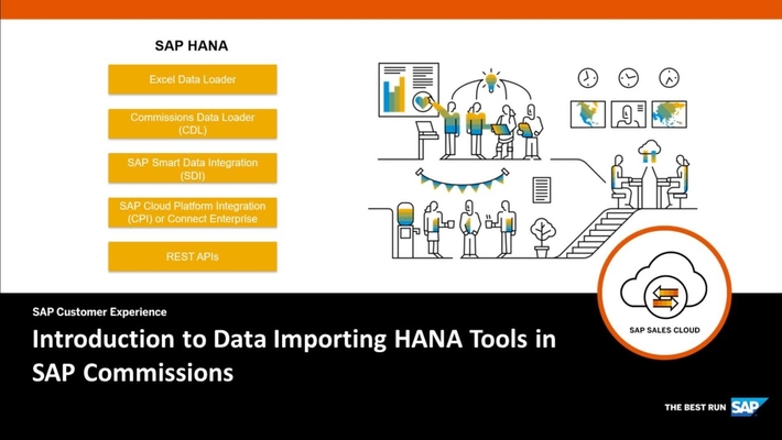 Introduction to Data Importing HANA Tools in SAP Commissions