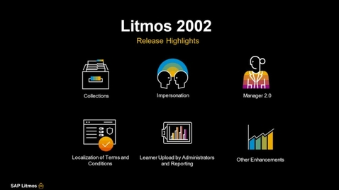 Thumbnail for entry [ARCHIVED] SAP Litmos Solutions – 2002 Release Features