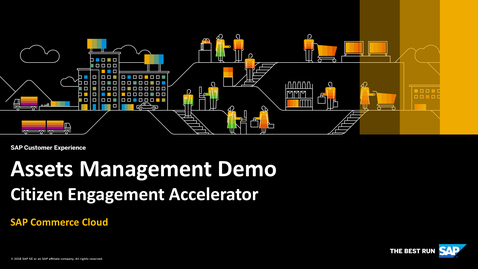 Thumbnail for entry Assets Management Demo - SAP Commerce Cloud - Citizen Engagement Accelerator