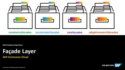 Thumbnail for entry Façade Layer - SAP Commerce Cloud