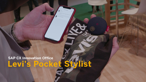 Thumbnail for entry Levi's Pocket Stylist - SAP CX Innovation Office