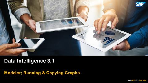 Thumbnail for entry Running & Copying Graphs - SAP Data Intelligence