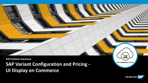 Thumbnail for entry UI Display on Commerce - SAP Product Configuration - SAP Commerce Cloud