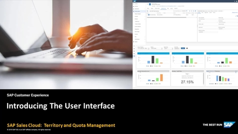 Thumbnail for entry Introduction of the Territory and Quota Management User Interface