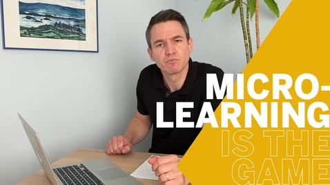 Thumbnail for entry Microlearning is the Game! - SAP CX Enablement