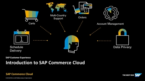 Thumbnail for entry Introduction to SAP Commerce Cloud