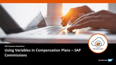 Thumbnail for entry Using Variables in Compensation Plans - SAP Commissions