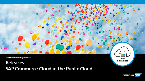 Thumbnail for entry Releases - SAP Commerce Cloud