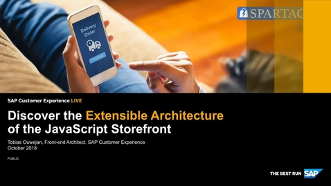 Thumbnail for entry Introduction to Spartacus Extensibility Live Coding – SAP Commerce Cloud