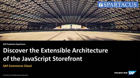Thumbnail for entry Introduction to Spartacus Extensibility Live Coding - SAP Commerce Cloud