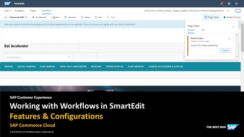 Thumbnail for entry Working with Workflows in SmartEdit - SAP Commerce Cloud