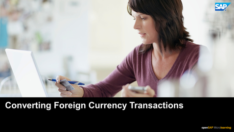 Thumbnail for entry Converting Foreign Currency Transactions - SAP Concur