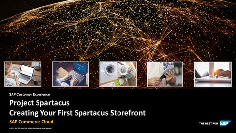 Thumbnail for entry Creating Your First Spartacus Storefront - SAP Commerce Cloud
