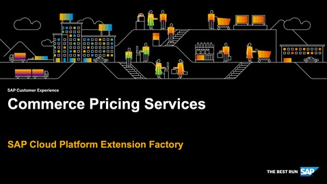 Thumbnail for entry Demo: Commerce Pricing Services - SAP Cloud Platform Kyma Runtime