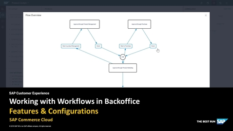 Thumbnail for entry Working with Workflows - SAP Commerce Cloud